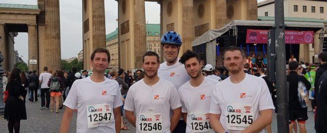 Gruppenfoto des Teams