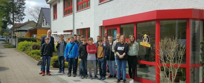 Teilnehmer des Zukunftstages