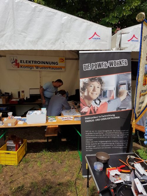 Elektroinnung Präsentationsstand