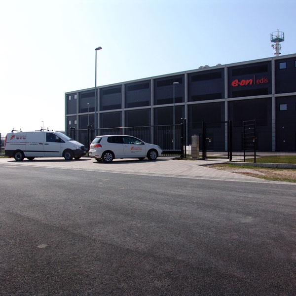 BBI Flughafen eon Edis Zentrale