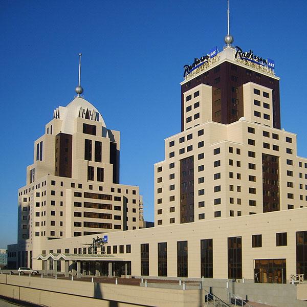 Fernsehstudio Astana Kasachstan