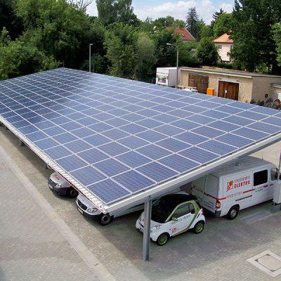 Solarcarport Schulzendorfer Elektro