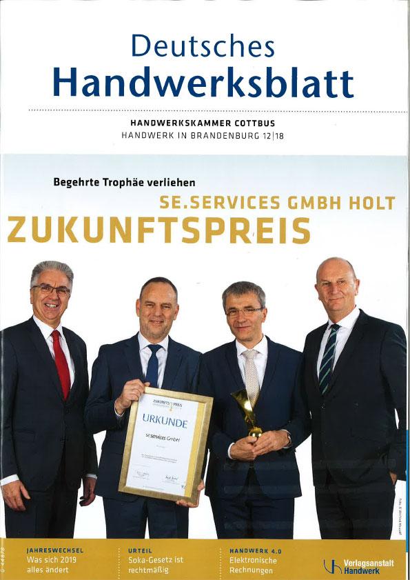 Deutsches Handwerksblatt Ausgabe 12 2018