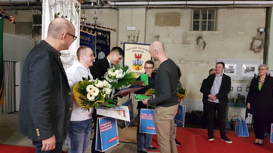 Gesellenfreisprechung Handwerkskammer 2019