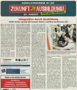Integration durch Ausbildung